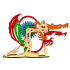 Конструктор 3D деревянный M-WOOD Дракон