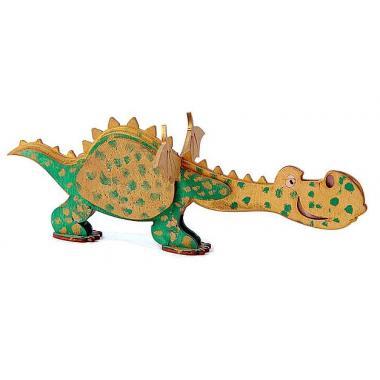 Конструктор 3D деревянный Lemmo Дракон