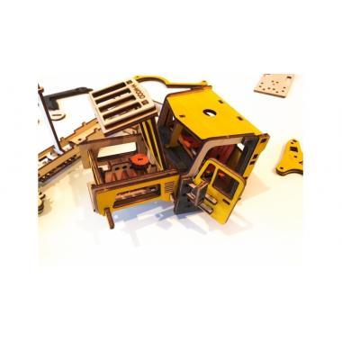Конструктор 3D деревянный M-WOOD Эвакуатор