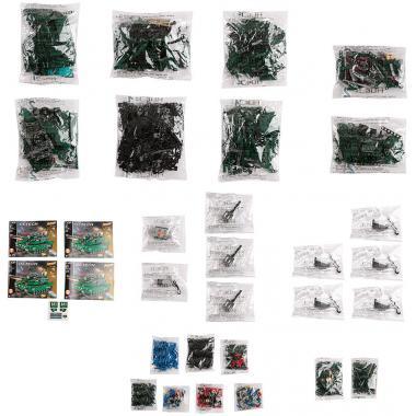 Конструктор Cada Technics, Танк M1A2, 1498 деталей, пульт управления - C61001W