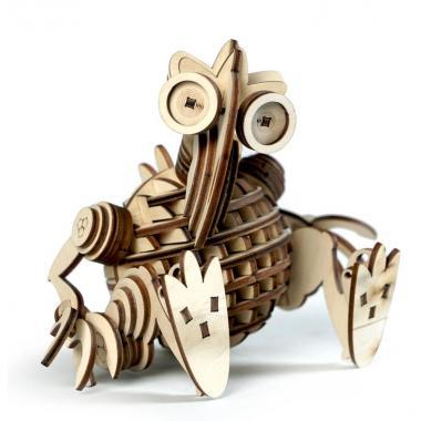 Конструктор 3D деревянный подвижный Lemmo ЛЕММИТС КЕША