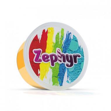 Кинетический пластилин Zephyr Шоу-Бокс - 8 банок из четырех цветов