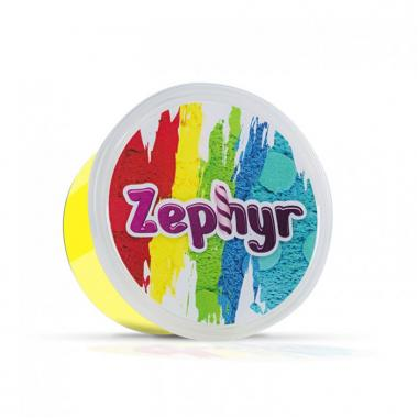 Кинетический пластилин Zephyr Шоу-Бокс - 12 банок из шести цветов