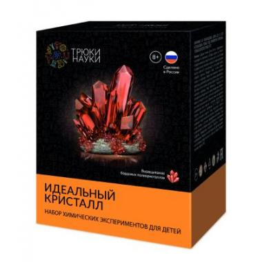 Z116 Набор опытов Трюки Науки - Идеальный кристалл (бордовый)