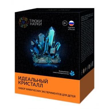 Z117 Набор опытов Трюки Науки - Идеальный кристалл (синий)