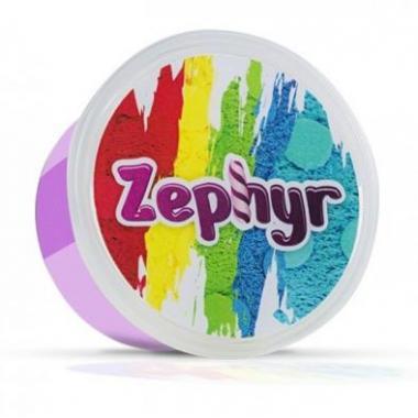 """Кинетический пластилин """"Zephyr"""" (Зефир) цвет фиолетовый"""