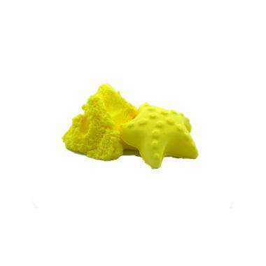"""Кинетический пластилин """"Zephyr"""" (Зефир) цвет желтый 300 гр (дой-пак)"""