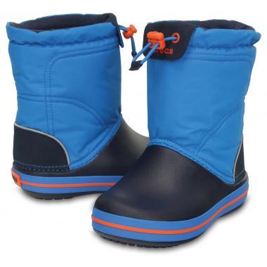 Демисезонные сапоги CROCS (синий)