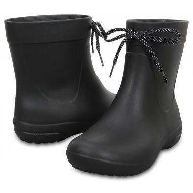 Резиновые сапоги женские CROCS (черный)
