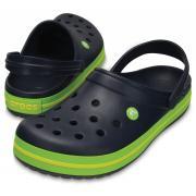 Сабо CROCS Crocband (т.синий/зеленый)