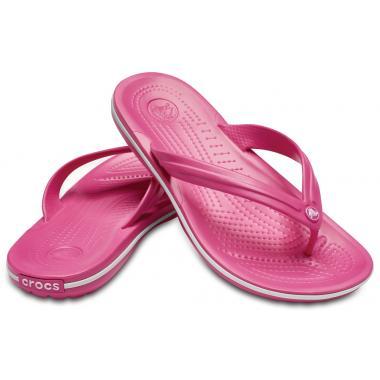 Сланцы CROCS Crocband Flip (Paradise Pink/White)