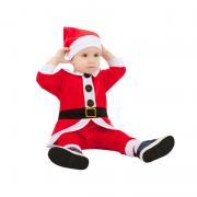 """Детский карнавальный костюм """"Санта"""", 9 мес."""