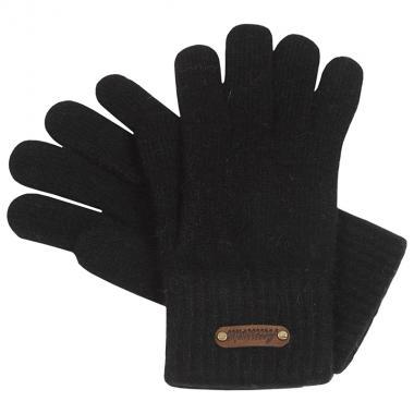 Шерстяные перчатки ACCESSORIES для девочки-подростка (черный), 12- 16 лет