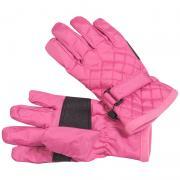 Стеганые мембранные перчатки GLOBAL для девочки (фуксия), 3-10 лет