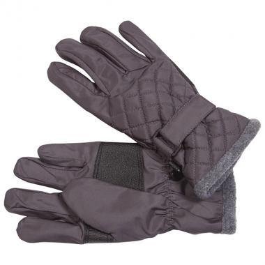Стеганые мембранные перчатки GLOBAL для мальчика (графит), 3-10 лет