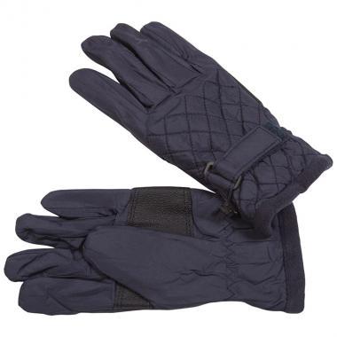 Стеганые мембранные перчатки GLOBAL для мальчика (синие), 5-12 лет