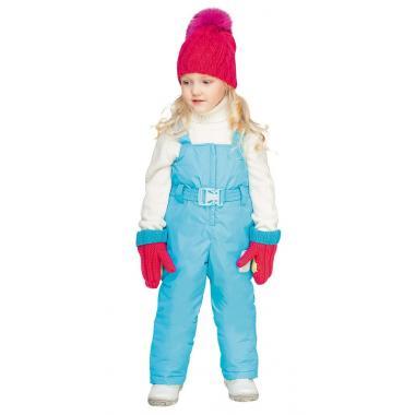 Зимний полукомбинезон BOOM! by Orby для девочки (яр.голубой), 1,5 года - 13 лет