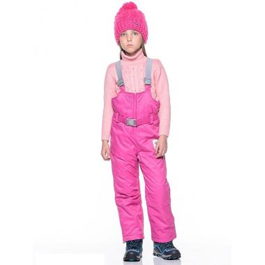 Зимний полукомбинезон BOOM! by Orby для девочки (яр.розовый), 1,5 года - 13 лет