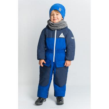 Зимний комбинезон Boom by Orby для мальчика (синий), 2-8 лет
