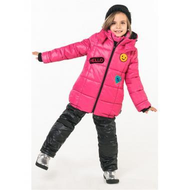 Купить Зимний комплект Boom by Orby для девочки (розовый/черный), 2-7 лет