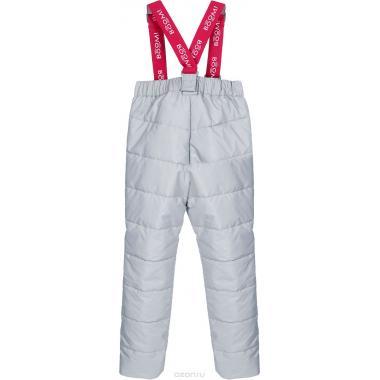 Утепленные брюки BOOM! by Orby для девочки (серый), 2 года -13 лет