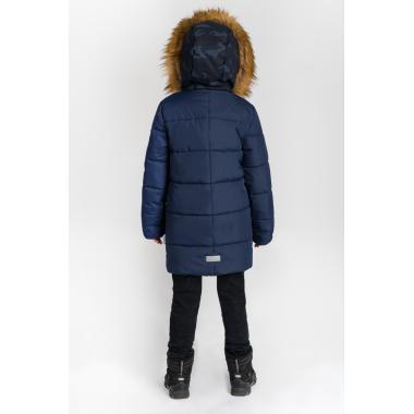 Зимнее пальто BOOM by ORBY для мальчика (синий), 3-15 лет