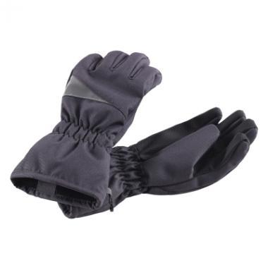 Зимние перчатки Lassie для мальчика (темно-серый), 2-12 лет