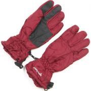Зимние перчатки GLOBAL подростковые (бордовые), 12-15 лет