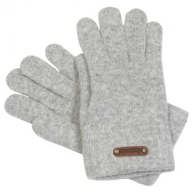 Шерстяные перчатки GLOPIA для девочки-подростка (серый), 12- 16 лет