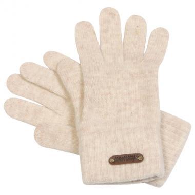 Шерстяные перчатки GLOPIA  для девочки-подростка (бежевый), 12- 16 лет
