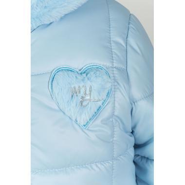 Купить Зимний комплект для девочки BOOM by ORBY (пепельно-голубой/серый), 2-7 лет