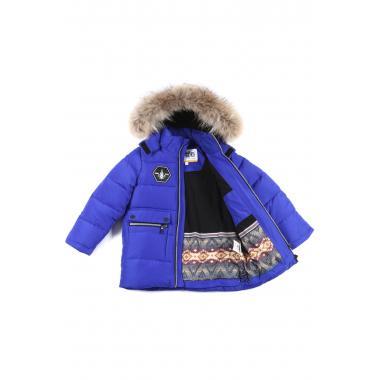 Зимняя куртка KIKO для мальчика ДАМИР (электрик), 4-8 лет