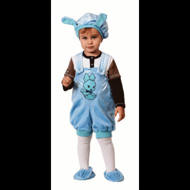 """Карнавальный костюм """"Кролик"""", (голубой)  4 года"""
