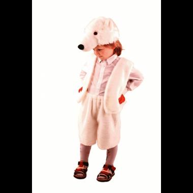 """Карнавальный костюм """"Медведь полярный """", 5-8 лет"""