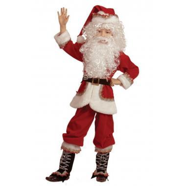 """Детский карнавальный костюм БАТИК """"Санта Клаус"""", 7-8 лет"""