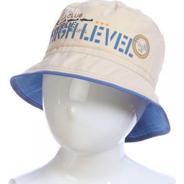 Летняя шляпа MAGROF для мальчика (т. бежевая), 2-4 года