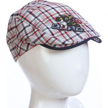 Летняя кепка MAGROF для мальчика (бежевый/синий), 1-3 лет