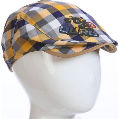 Летняя кепка MAGROF для мальчика (желтый/серый), 1-3 лет