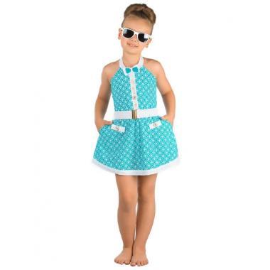 Пляжное платье для девочек Arina Festivita GQ 041604 AF Tiffany (голубой)