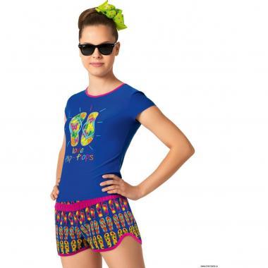 Шорты для девочек YPX071507 Brooke (мультиколор)