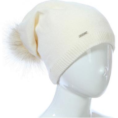 Зимняя шапка AGBO для девочки STASIA (бежевая), 9-16 лет