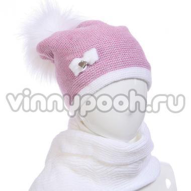 Зимний комплект AGBO для девочки KARA (сиреневый), 9-14 лет