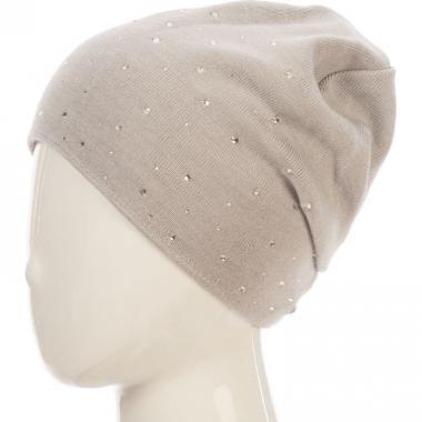 Зимняя шапка BARBARAS для девочки КРИСТАЛИНА (серая), 10-15 лет