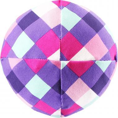 Весенняя шапка Lassie для девочки (сиреневый/розовый), 3-12 лет
