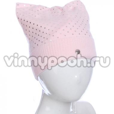 Весенняя шапка AGBO для девочки FIBI (розовый), 4-9 лет