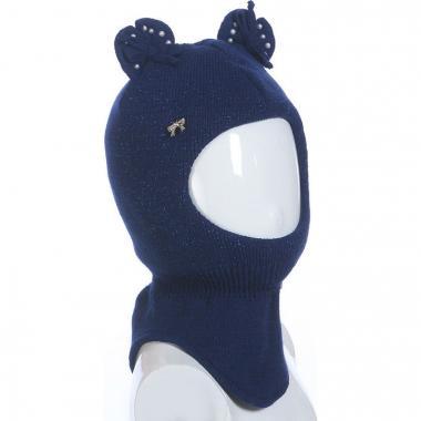 Шапка-шлем AGBO для девочки KAMERON (синий), 2-3 года