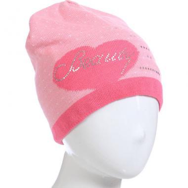 Весенняя шапочка AGBO для девочки MARIKA (розовый/фуксия), 6-12 лет