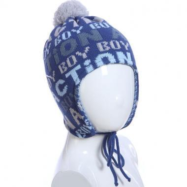 Весенняя шапка ACHTI для мальчика BOY BOY (синий), 3-5 лет
