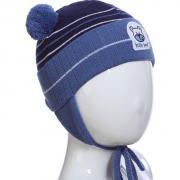 Весенняя шапка AGBO для мальчика MISH (джинс/синий), 1-2 года