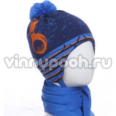 Зимний комплект AGBO для мальчика BRALANT (синий/голубой), 3-5 лет